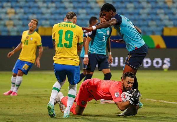 Ecuador vs Brazil 2021