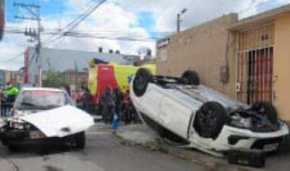 Accidente de tránsito Riobamba