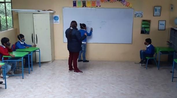 Retorno a las aulas Chimborazo