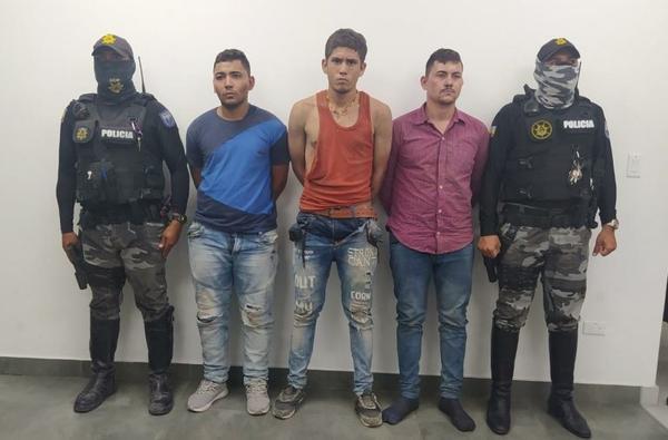Detenidos tras balacera.