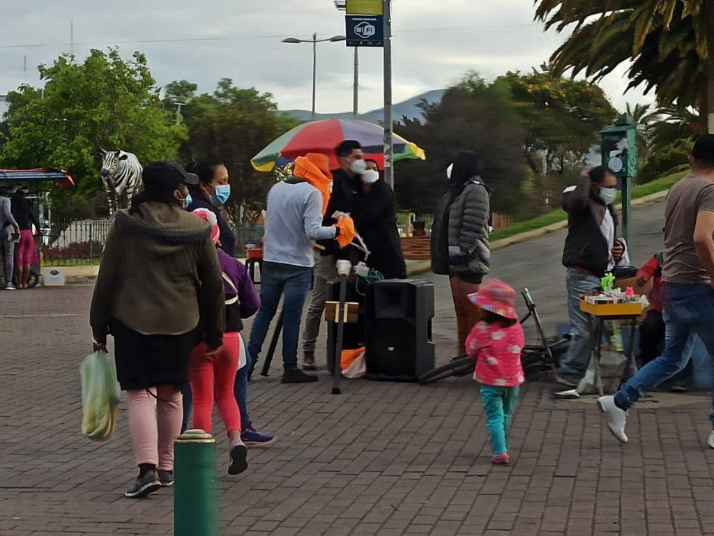 parques y mercados de Riobamba