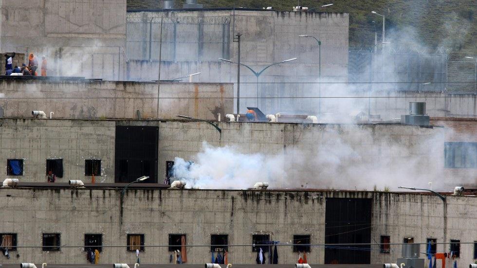 muertos en amotinamientos en cárceles