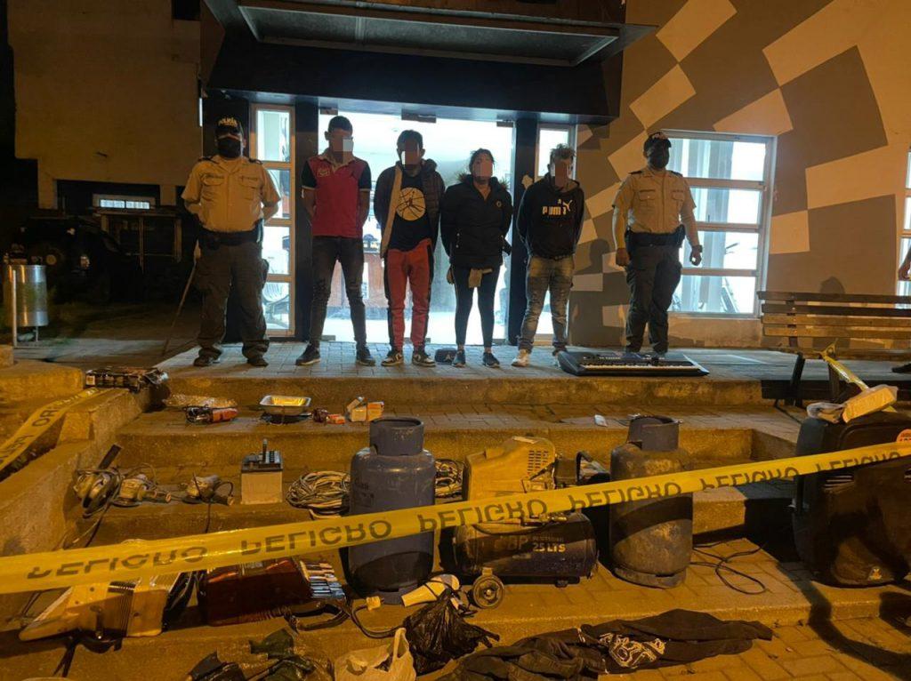 3 detenidos en Chimborazo