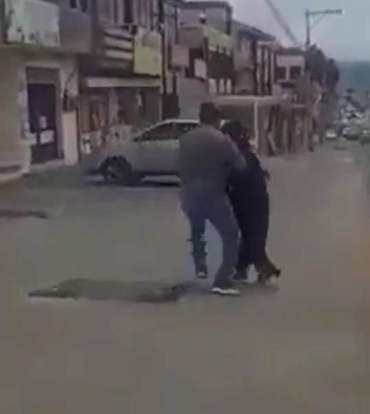 Mujer fue agredida en Riobamba